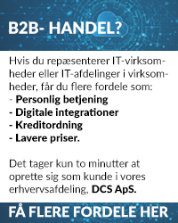 Bliv oprettet som kunde hos DCS