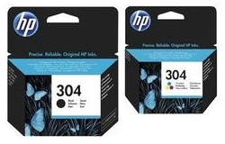 HP 304 Combo Pack Sort  tricolor