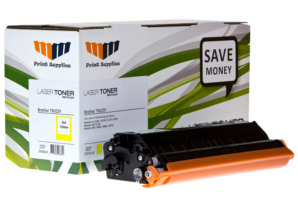 Yellow Laser Toner HC (TN325Y)