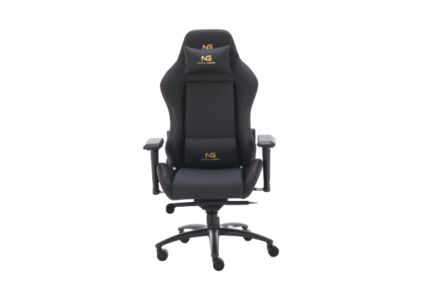 Nordic Gold Premium SE Leather Gaming Chair Black