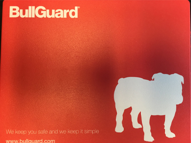 BullGuard patented tracking Surface