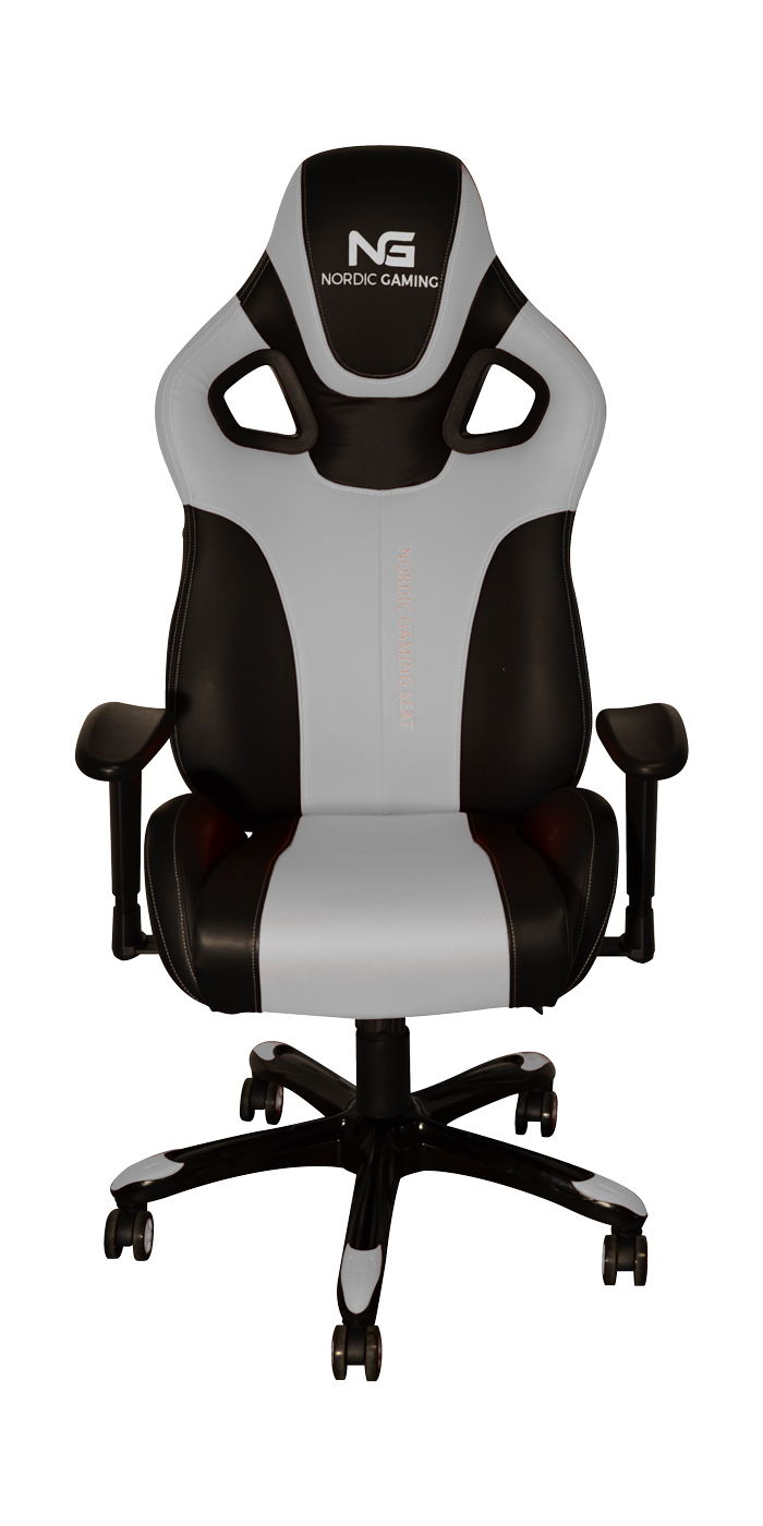 Nordic Gaming Performance Chair White Black
