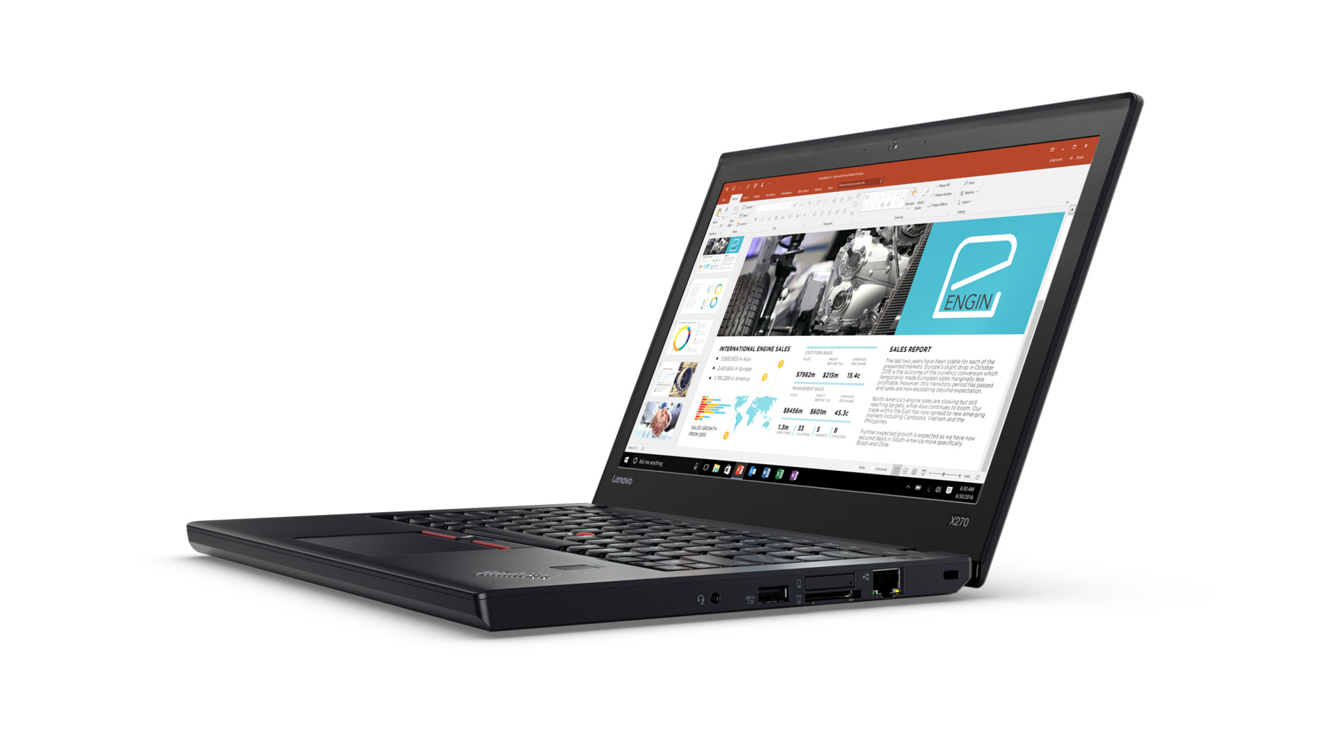 Lenovo ThinkPad X270 12.5' I5-7300U 8GB 128GB Graphics 620 Windows 10 Home 64-bit