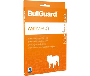 BullGuard Antivirus 2017 - 1Y/1U WIN only ESD only Key