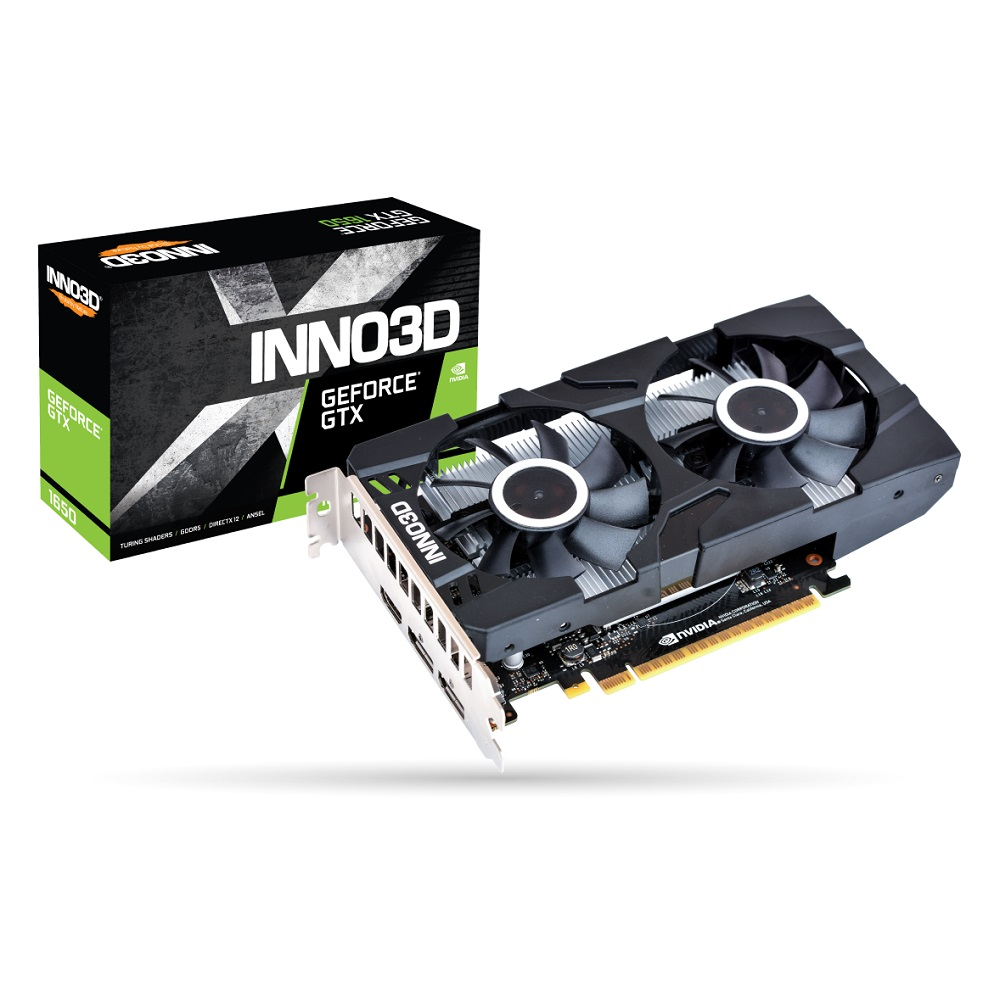 Inno3D GeForce GTX 1650 Twin X2 OC 4GB GDDR5