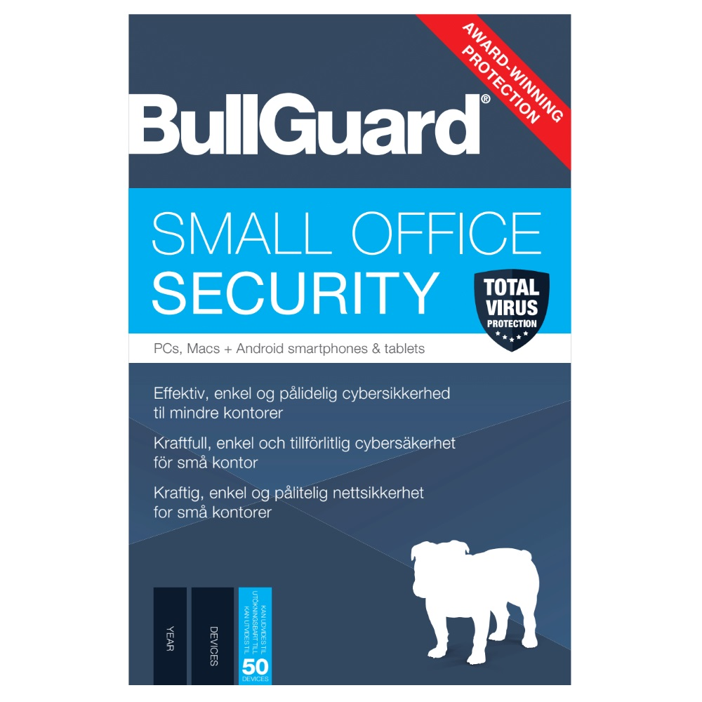 BullGuard Small Office Security - 1YR/50 Device