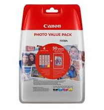 Canon CLI 571 XL /BK Photo Value Pack Sort Gul Cyan Magenta 500 sider